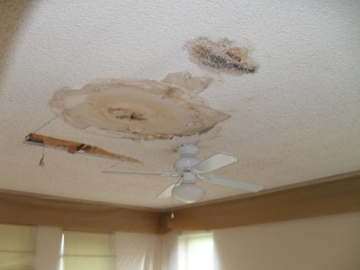 Removing The Popcorn Ceiling In Stairway And Kitchen | Popcorn Ceiling  Removal In Fort Worth TX